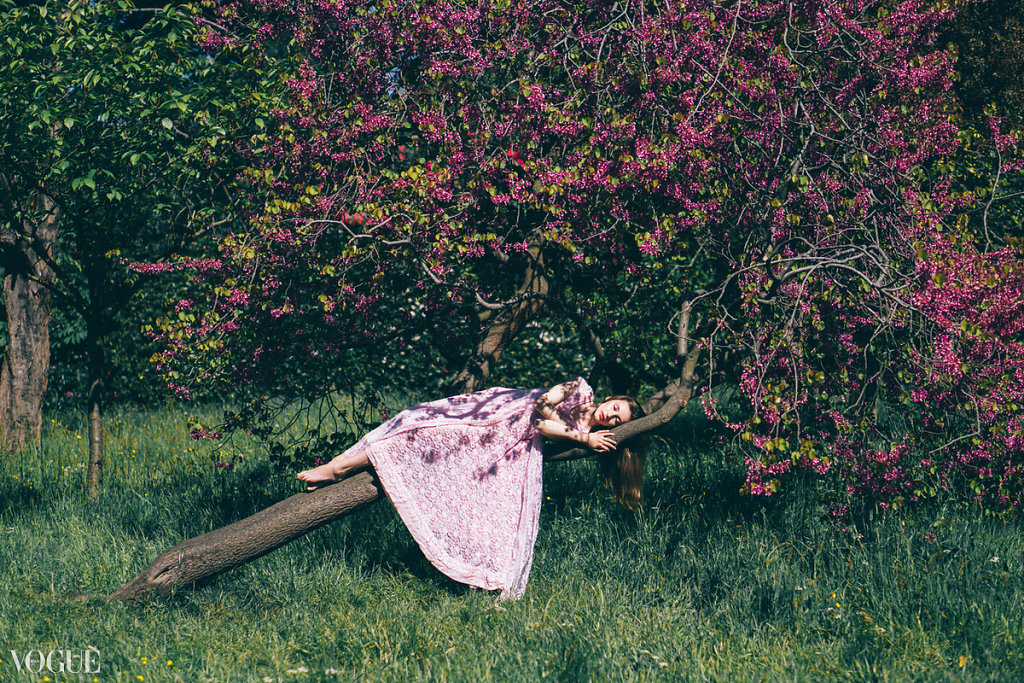 VOGUE ITALIA- Sleeping Beauty